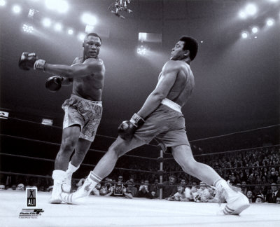 Ali in the Ring with Joe Frazier